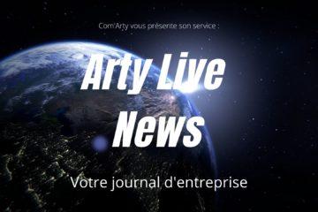 Arty Live News